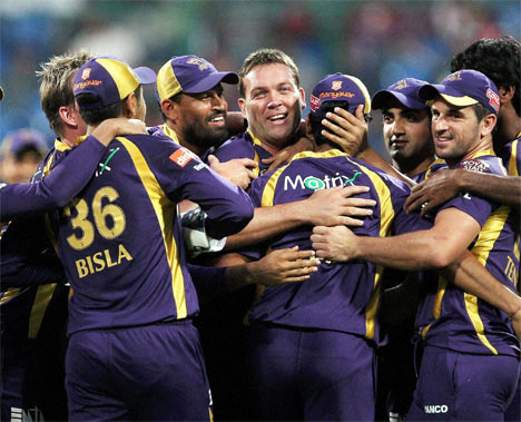 Cricket World wallpaper called KKR TEAM