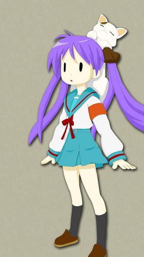 Kagami Hiiragi Fanart