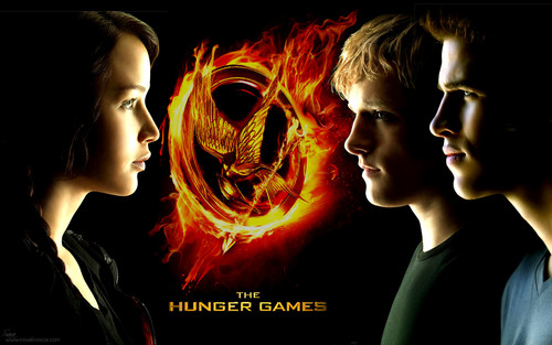 Katniss, Peeta, and Gale