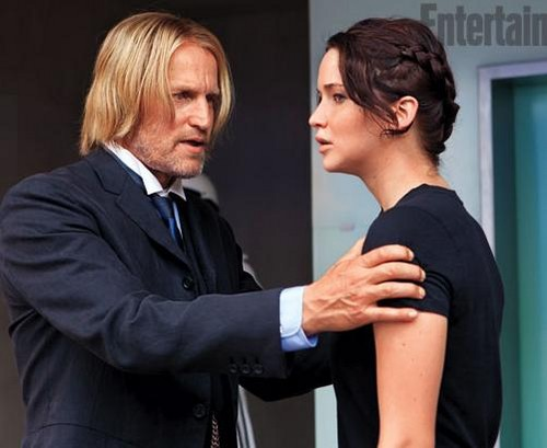 Katniss and Haymitch