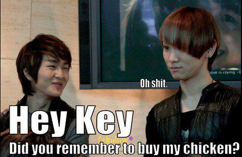Key and Onew's Chicken - kim-kibum-key Photo