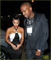 Kim Kardashian &amp; Kanye West: Date Night in NYC! - kanye-west photo