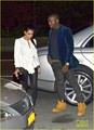 Kim Kardashian &amp; Kanye West: Dinner Date Night! - kanye-west photo