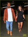 Kim Kardashian & Kanye West: 'Wicked' Date in NYC - kanye-west photo
