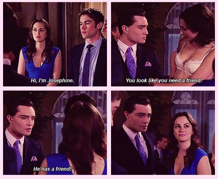 Kind of jealous, Blair?  - blair-and-chuck Fan Art