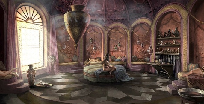 king s landing concept art   game of thrones photo
