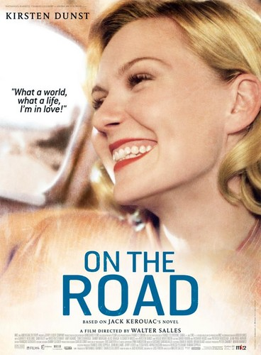 On the Road (Movie) wallpaper containing a portrait titled Kirsten Dunst is Camille a.k.a. Carolyn Cassady