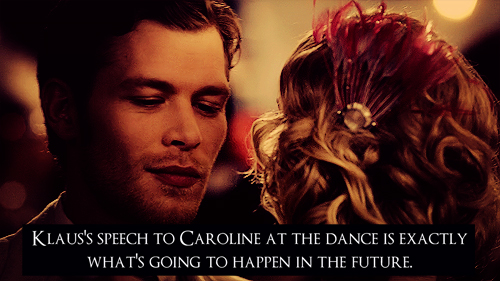 Klaus & Caroline wallpaper possibly with a bouquet, a rose, and anime called Klaroline Confession