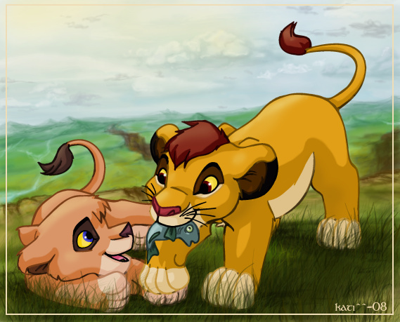 The lion king vitani and kopa - photo#3