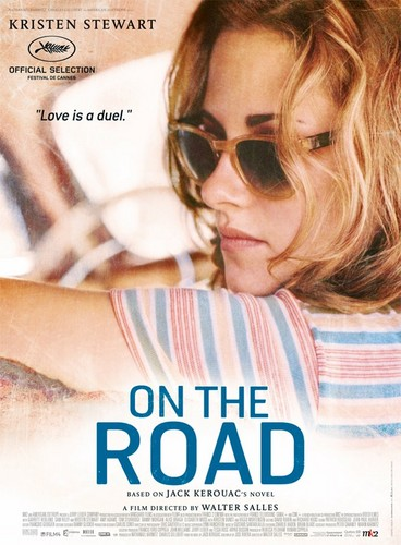 On the Road (Movie) wolpeyper with sunglasses and a portrait titled Kristen Stewart is Marylou a.k.a. LuAnne Henderson.