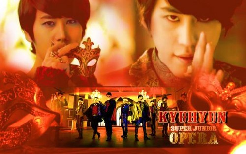 Kyuhyun Opera پیپر وال Spam