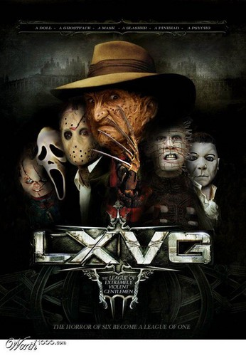 Horrorfilme Hintergrund called LXVG