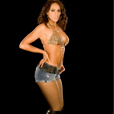 WWE-蕾拉 壁纸 probably with a bikini entitled Layla Photoshoot Flashback