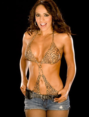 WWE LAYLA wallpaper possibly with a bikini entitled Layla Photoshoot Flashback