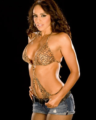 Layla (WWE) fond d'écran with a bikini entitled Layla Photoshoot Flashback