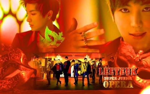 Super Junior images Leeteuk Opera Wallpaper Spam wallpaper ...