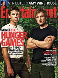 Liam Hemsworth and Josh Hutcherson on Entertainment Weekly cover