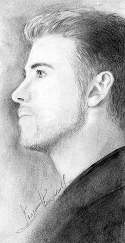 Liam Hemsworth wallpaper probably with a portrait called Liam Hemsworth by akane996