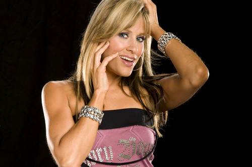 Lilian Garcia wallpaper probably with attractiveness and a chemise titled Lilian Garcia Photoshoot Flashback