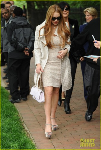Lindsay Lohan: White House Weekend Brunch!