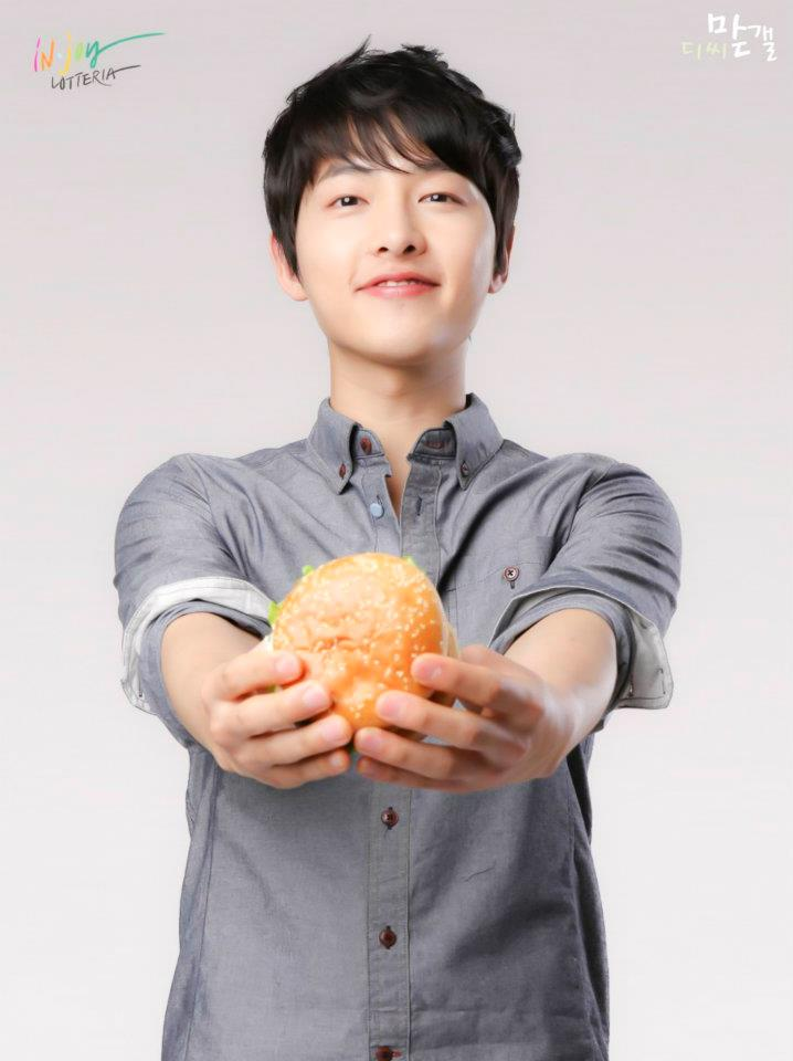 Song Joong Ki Images Lotteria CF HD Wallpaper And Background Photos