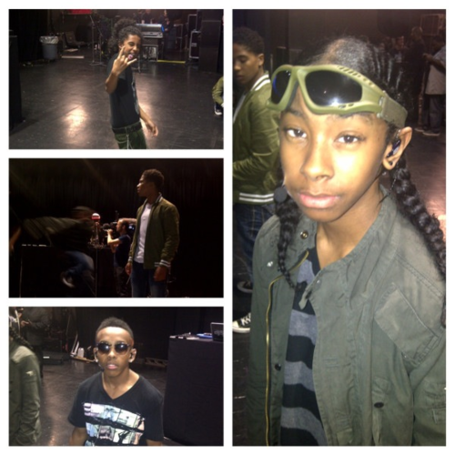 Mindless Behavior fond d'écran with a green béret, beret titled MB