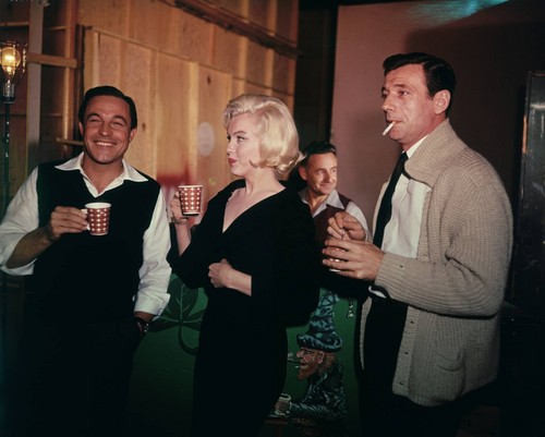 MaRilyn Monroe, Gene Kelly and Yves Montand (Let's Make Love)