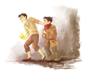 Mako and Bolin - avatar-the-legend-of-korra fan art