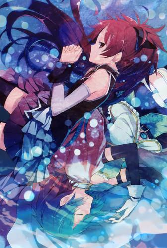 Manga extra Kyouko and Sayaka