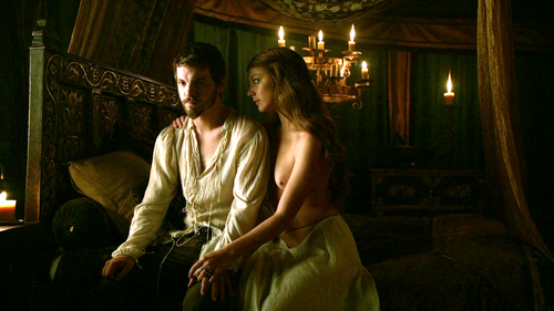 Margaery Tyrell wallpaper with a drawing room titled Margaery and Renly