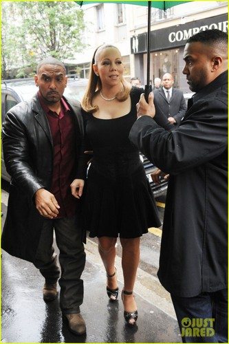 Mariah Carey Steps Out After Wedding Vow Renewal - mariah-carey Photo