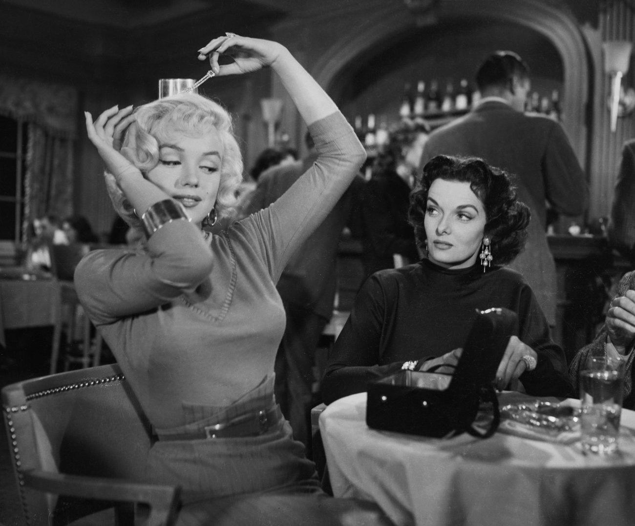 Marilyn Monroe and Jane Russell (Gentlemen Prefer Blondes)