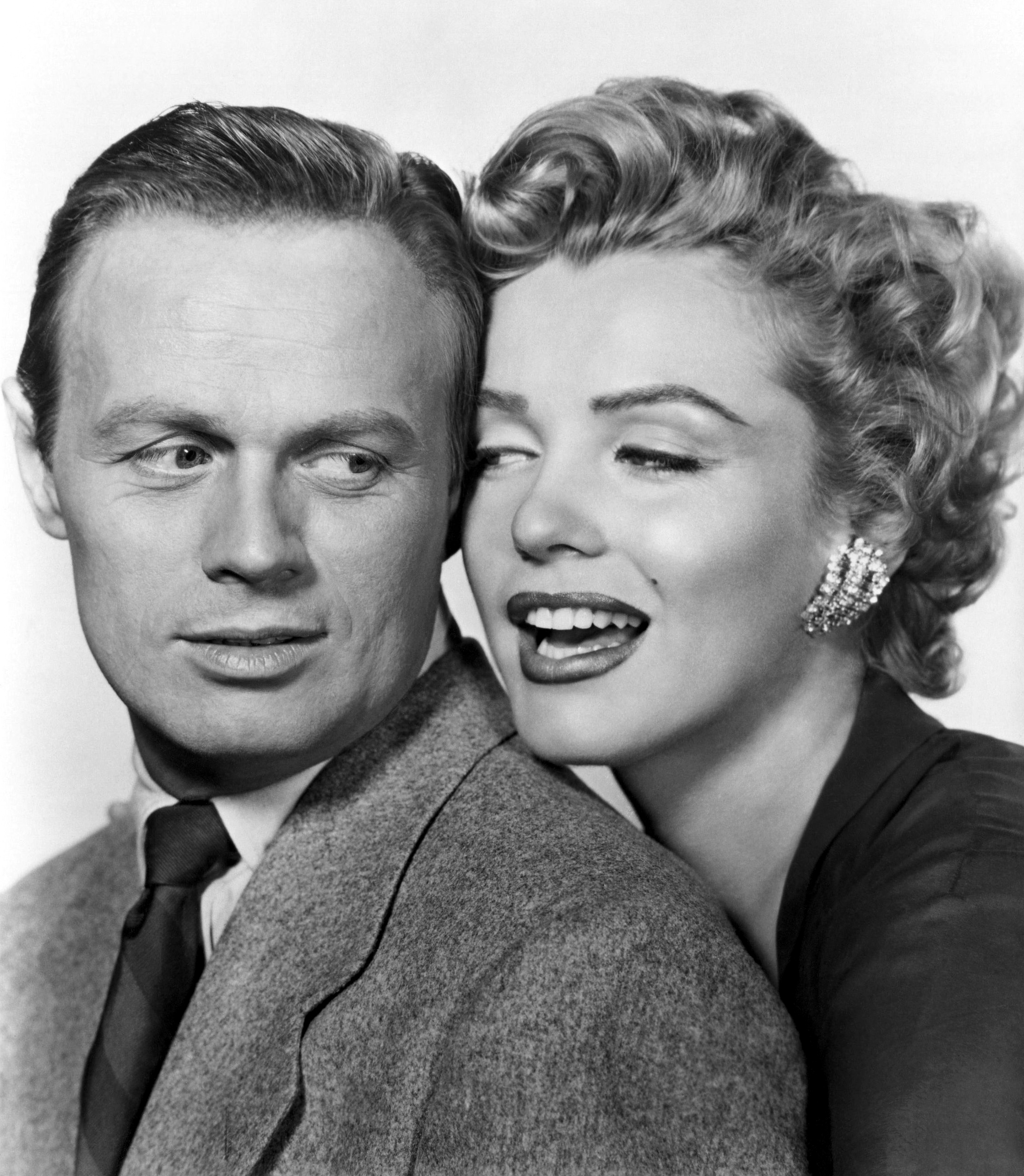 Marilyn Monroe and Richard Widmark (Don't Bother to Knock)