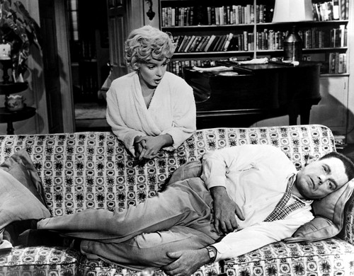 Marilyn Monroe and Tom Ewell (Seven Year Itch, The)
