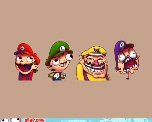 Random wallpaper called Mario memes