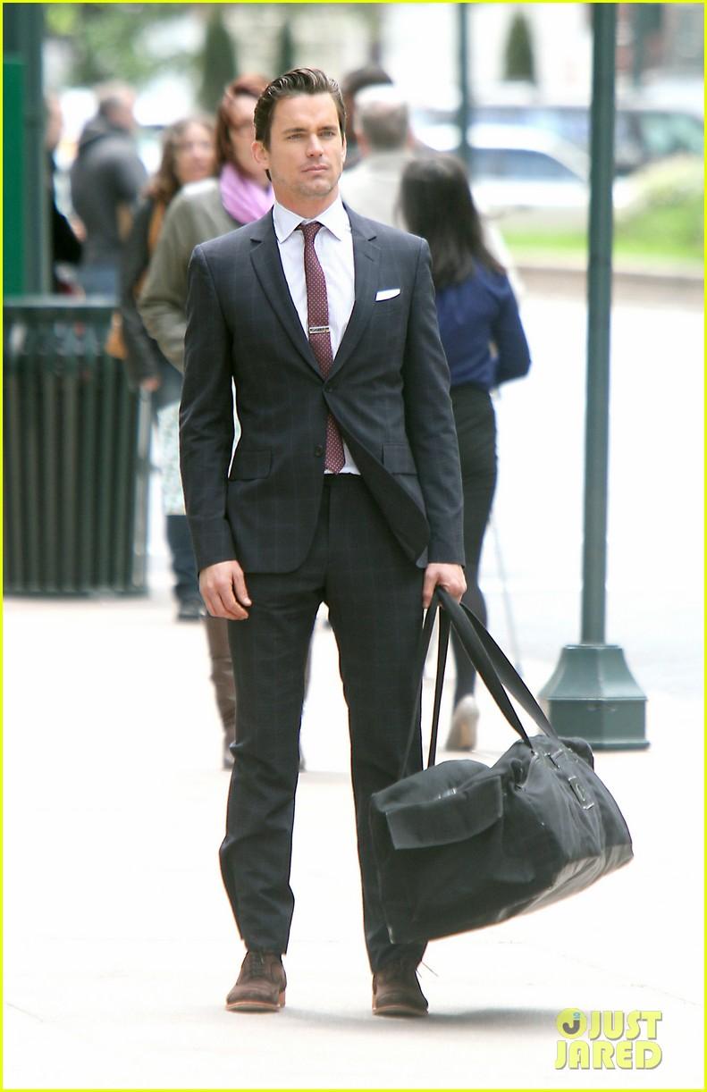 Matt Bomer: 'White Collar' Set!