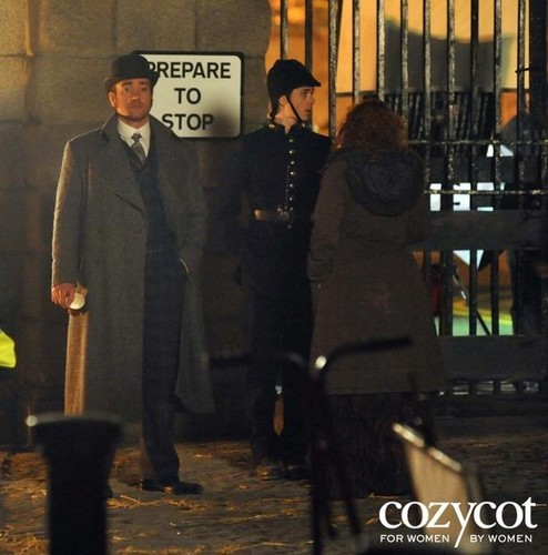 Matthew Macfadyen, Filming of &#34;Ripper Street&#34; - matthew-macfadyen Photo
