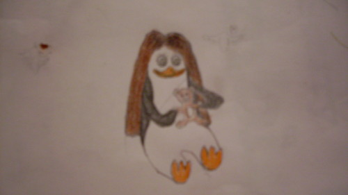 Me as a penguin. X3