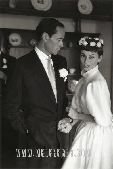 Klaudia S Blog Audrey Hepburn Givenchy Wedding Dress 1 I 39m Not