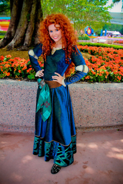 Merida Face Character