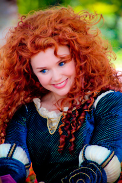 Merida Face Character - brave Photo