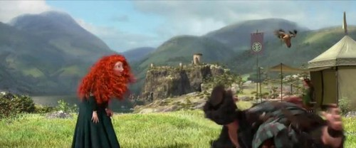 Merida and Her Father - bravo Takes on the NFL Draft