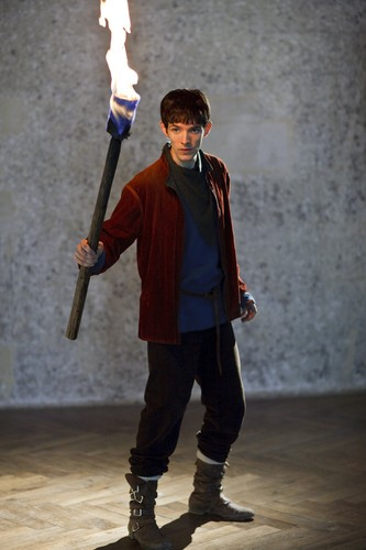 Merlin with torch