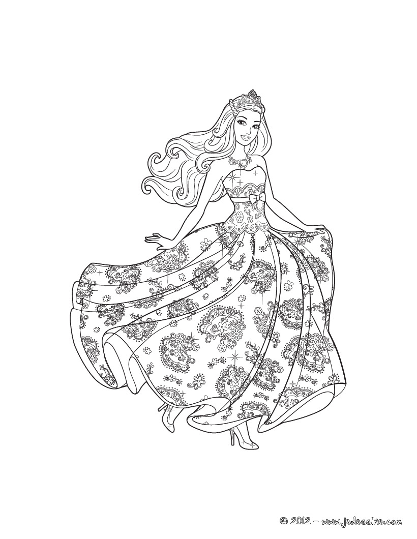 island princess barbie coloring pages - photo#6