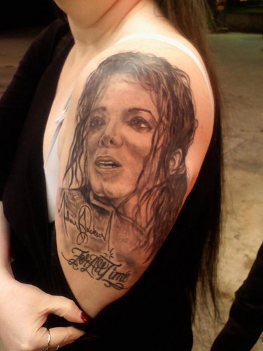 Michael Jackson Tatto
