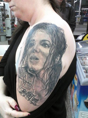 Tattoos wallpaper titled Michael Jackson Tattoo