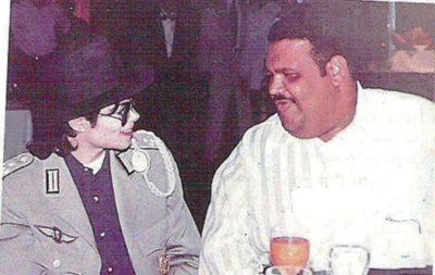 Michael Jackson and the FAT 1 ♥ ( rare )