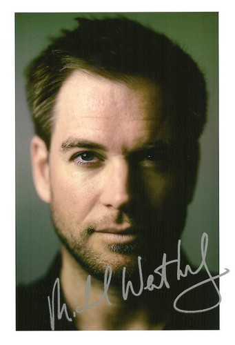 Michael Weatherly autograph