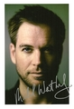Michael Weatherly autograph - michael-weatherly photo