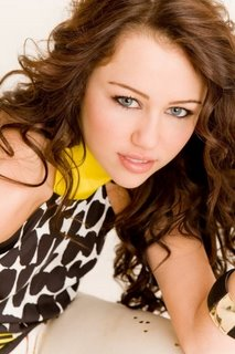 Celebrity Contests wallpaper containing a portrait, attractiveness, and skin entitled Miley Cyrus ~ Breakout photoshoot
